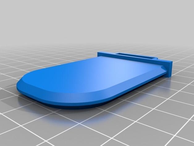 黄油分割刀/容器模型 3D模型  图6