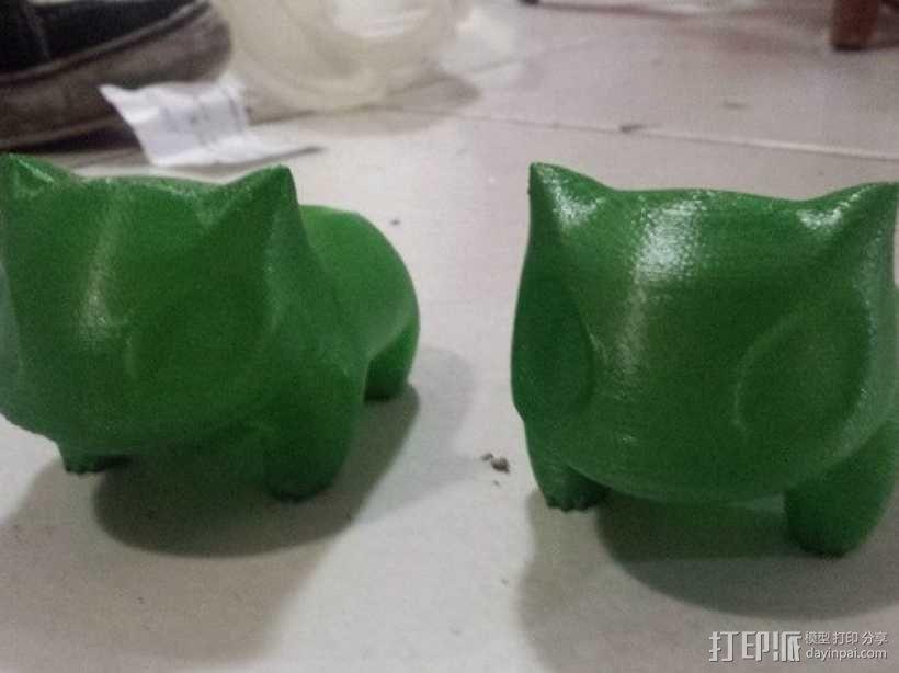 妙蛙种子花盆模型 3D模型  图2