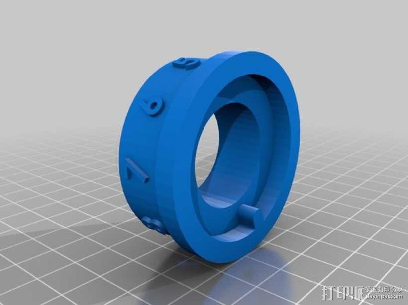 带密码锁的挂锁模型 3D模型  图6