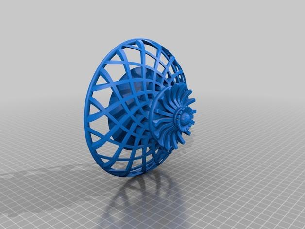3D打印的天花板模型 3D模型  图2