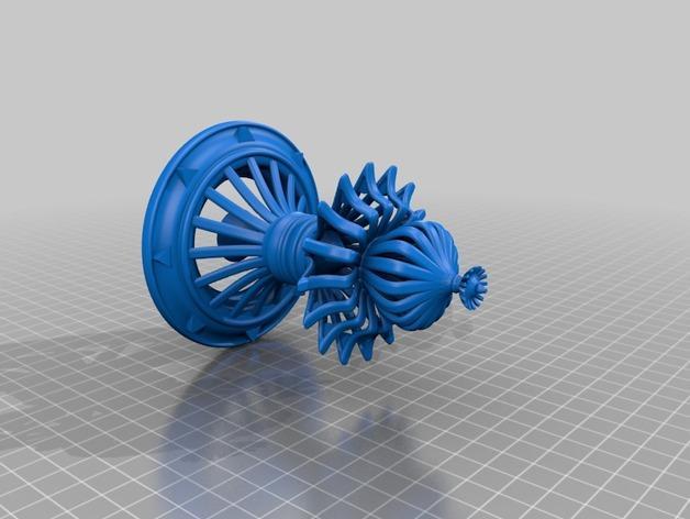 3D打印的天花板模型 3D模型  图3