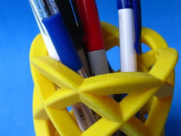 办公室笔筒模型#5 3D模型  图4