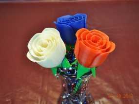 玫瑰花模型 3D模型