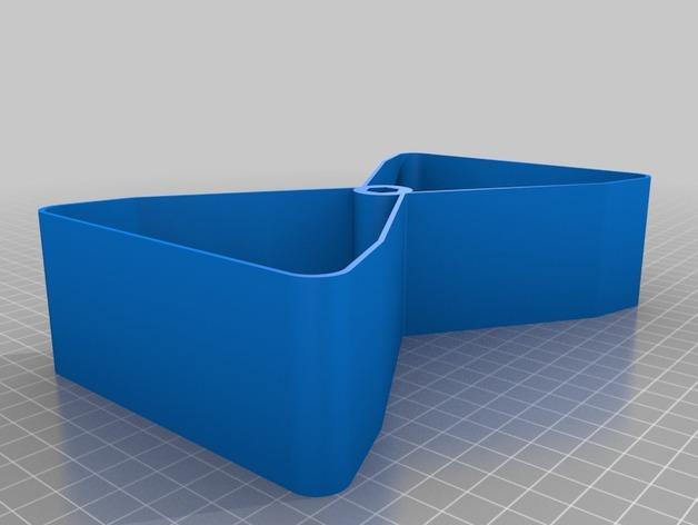 迷你多层花盆模型 3D模型  图4