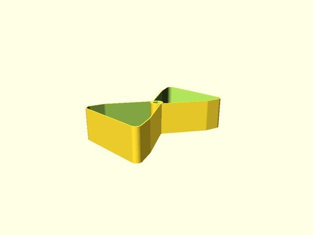 迷你多层花盆模型 3D模型  图5