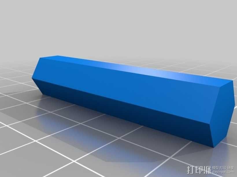 迷你多层花盆模型 3D模型  图8