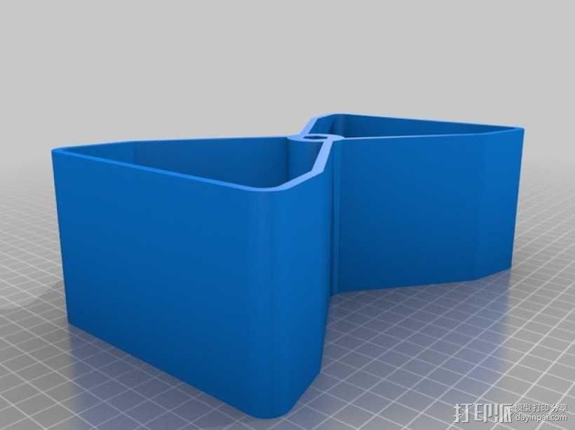迷你多层花盆模型 3D模型  图10
