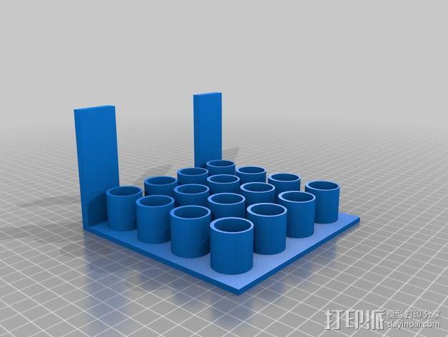 办公室白板笔架模型 3D模型  图4