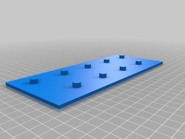 弹珠盘风格的存钱罐模型 3D模型  图4