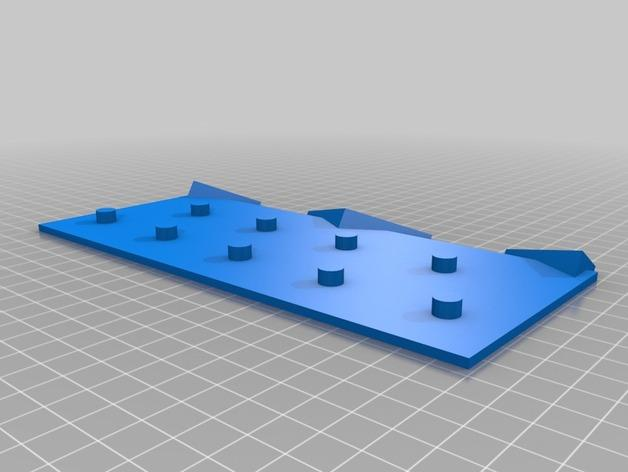 弹珠盘风格的存钱罐模型 3D模型  图3