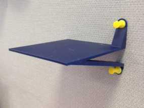 墙壁图钉架子模型 3D模型