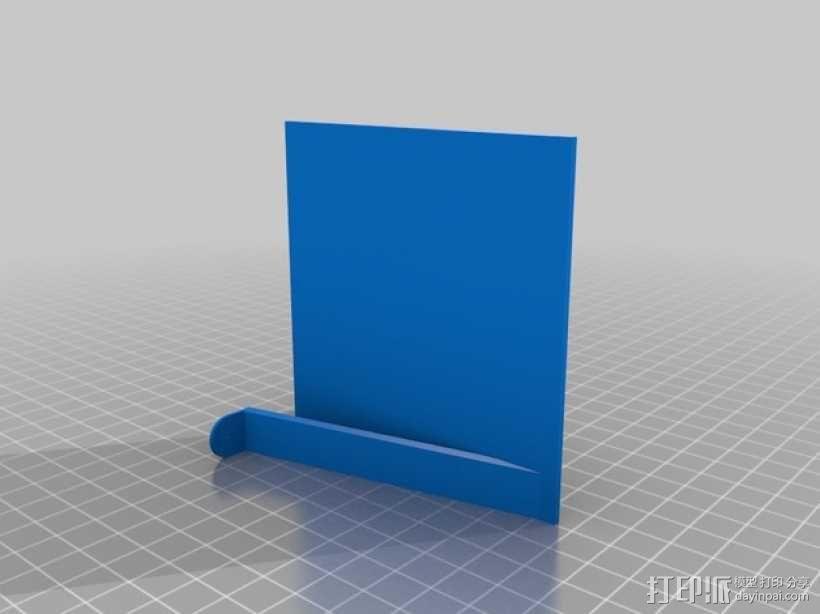 墙壁图钉架子模型 3D模型  图2