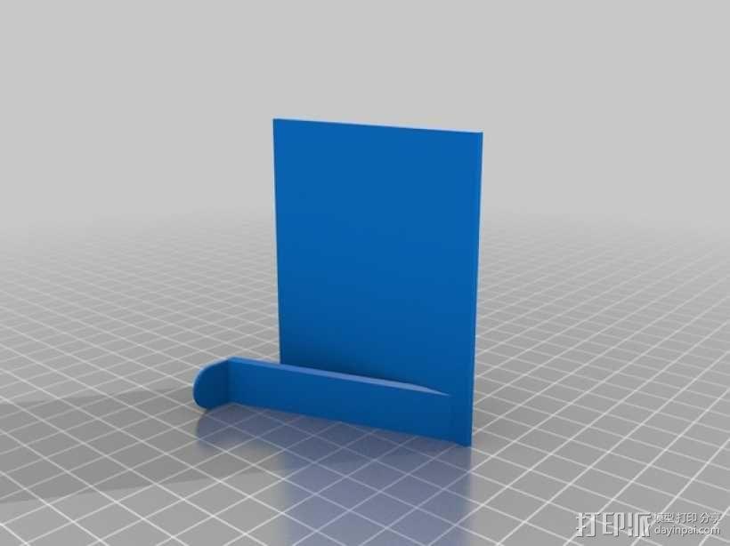 墙壁图钉架子模型 3D模型  图3