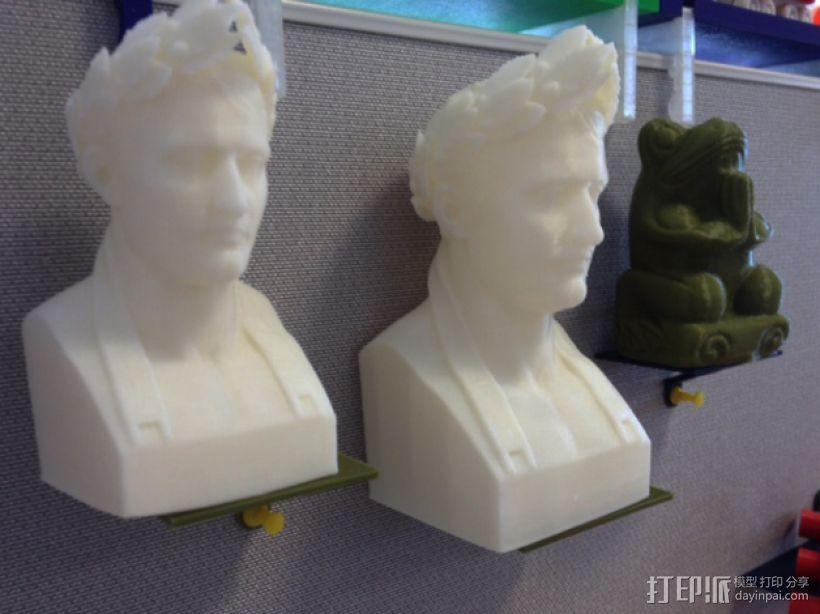 墙壁图钉架子模型 3D模型  图5