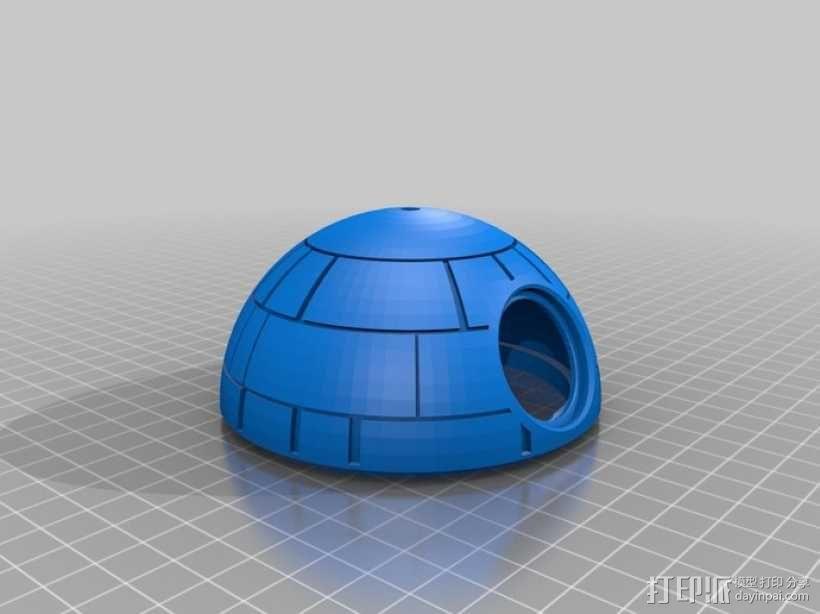 死亡星球鸟笼模型 3D模型  图2