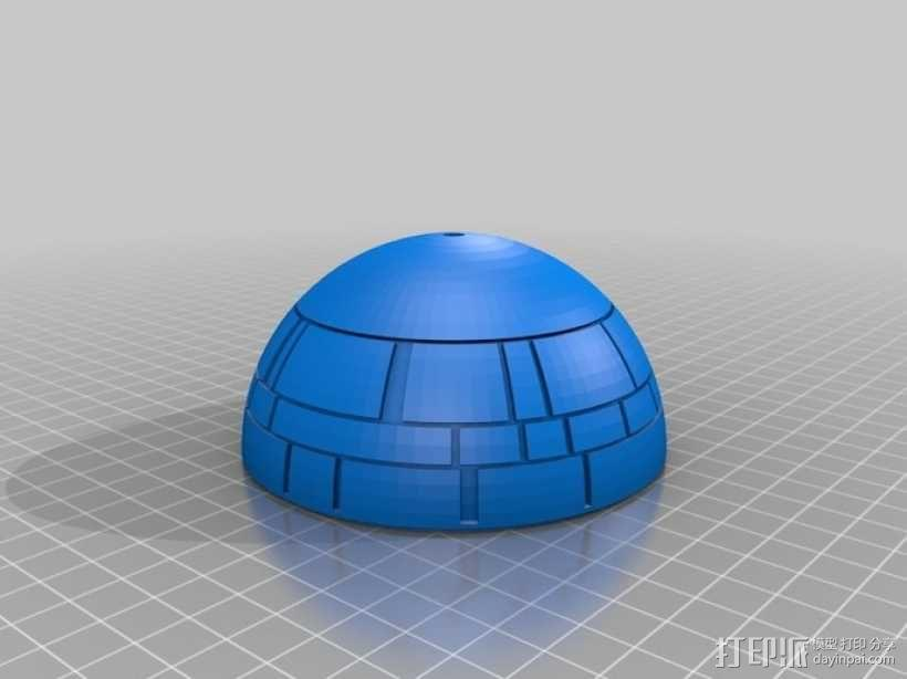 死亡星球鸟笼模型 3D模型  图3
