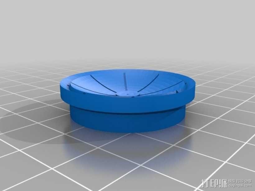 死亡星球鸟笼模型 3D模型  图4