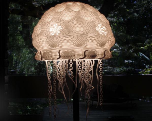 迷你水母灯罩模型 3D模型  图11