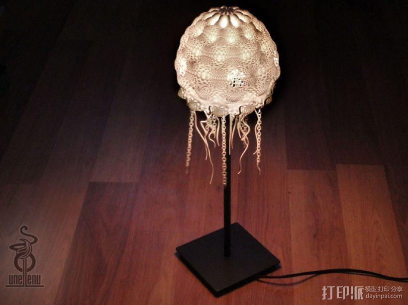 迷你水母灯罩模型 3D模型  图12