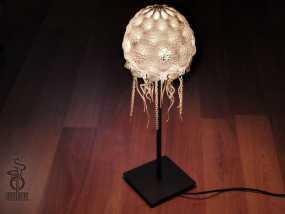 迷你水母灯罩模型 3D模型