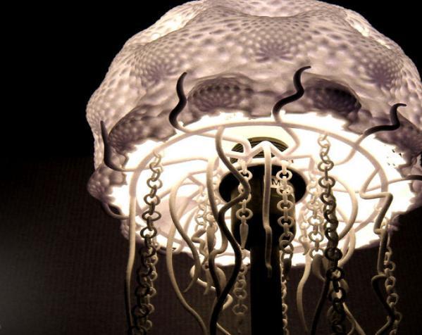 迷你水母灯罩模型 3D模型  图14