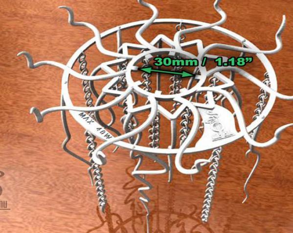 迷你水母灯罩模型 3D模型  图15