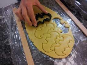 蝙蝠形饼干切割刀模型 3D模型