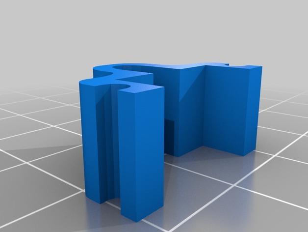 冰箱固定夹模型 3D模型  图2