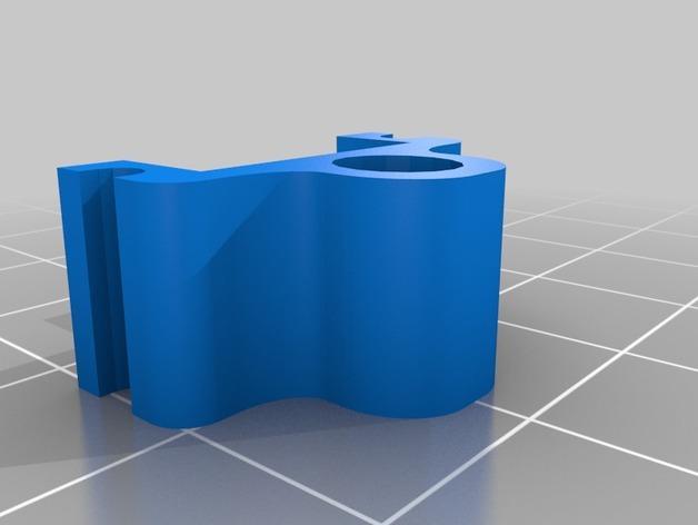冰箱固定夹模型 3D模型  图3