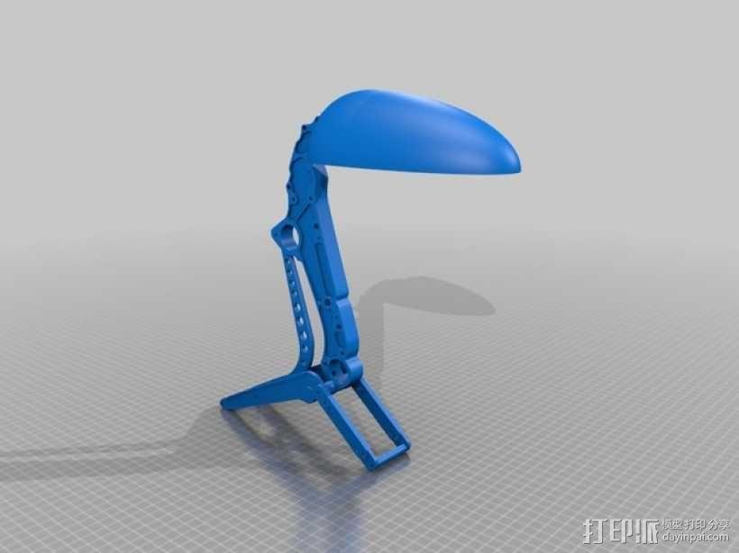 迷你桌面台灯模型 3D模型  图4
