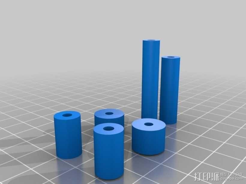 迷你桌面台灯模型 3D模型  图19
