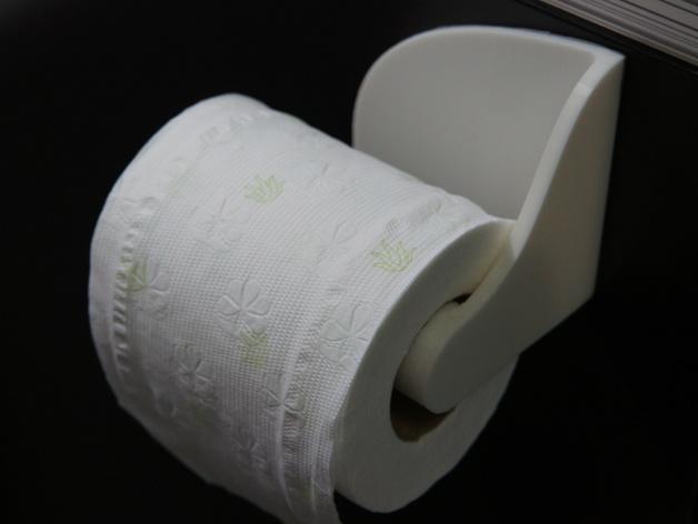 厕纸纸架模型 3D模型  图1