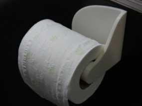 厕纸纸架模型 3D模型