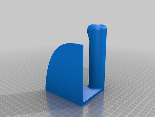 厕纸纸架模型 3D模型  图2