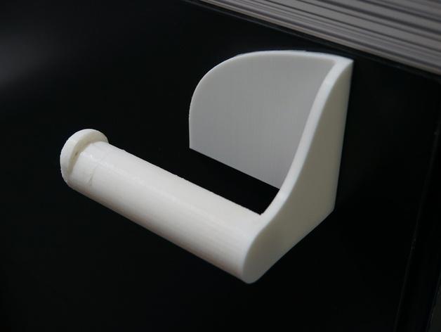 厕纸纸架模型 3D模型  图3