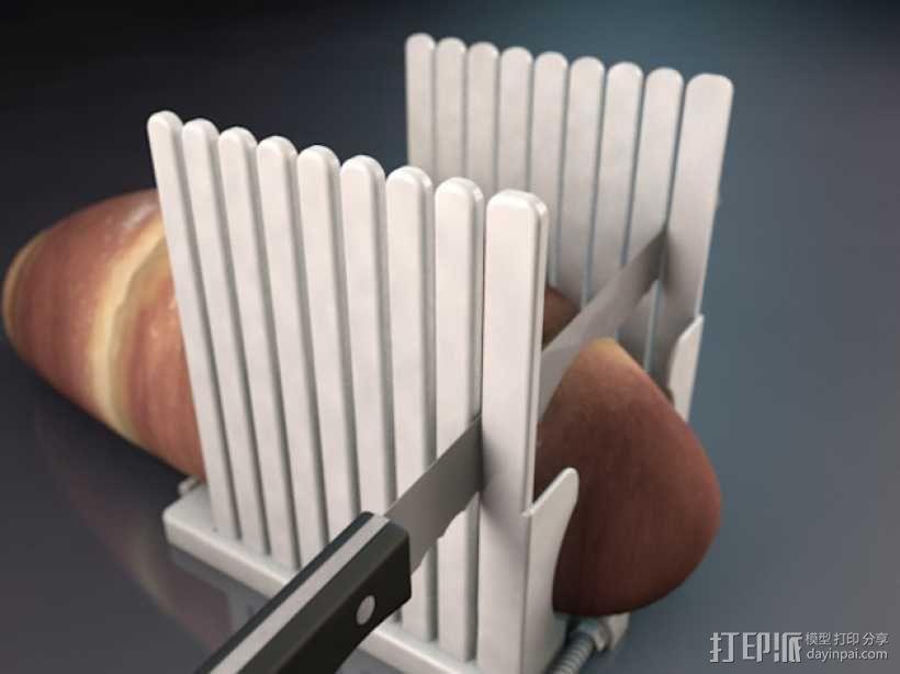 面包切片机模型 3D模型  图1