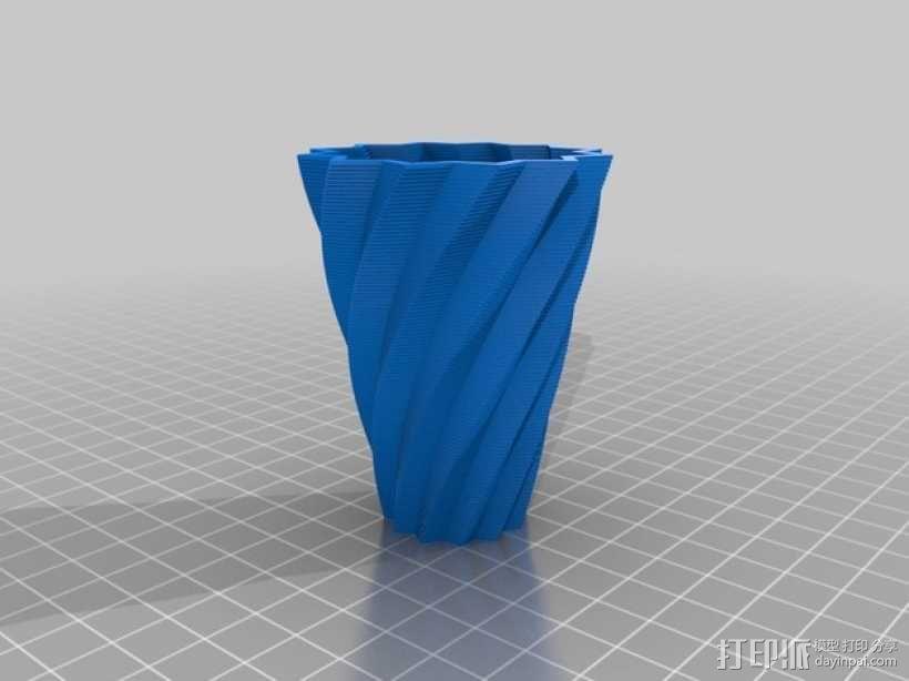 花盆/花瓶/笔筒/酒杯模型 3D模型  图2