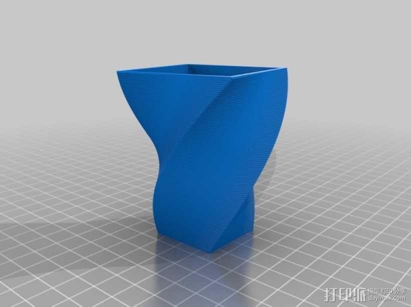 花盆/花瓶/笔筒/酒杯模型 3D模型  图3