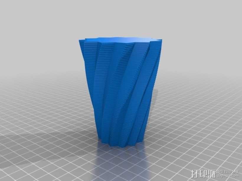 花盆/花瓶/笔筒/酒杯模型 3D模型  图5