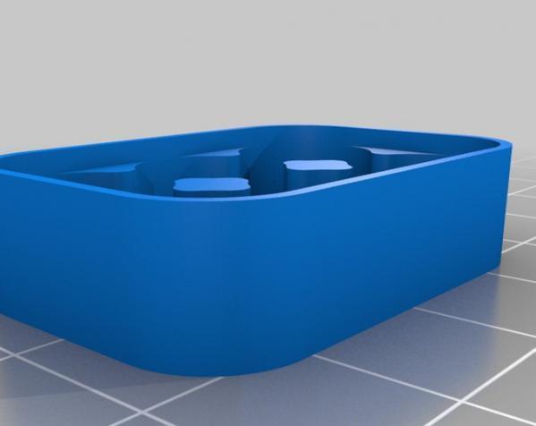 定制化电池盒模型 3D模型  图3