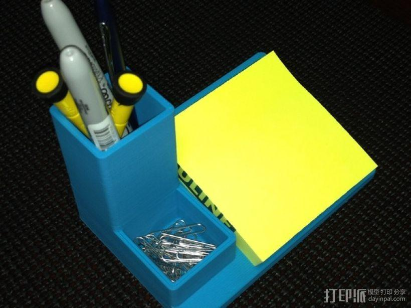 多功能笔筒模型 3D模型  图1