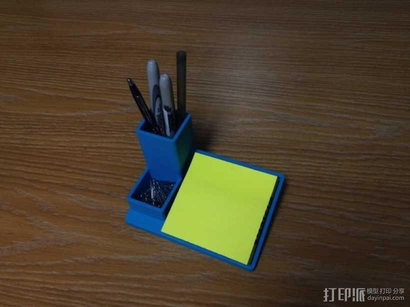多功能笔筒模型 3D模型  图3