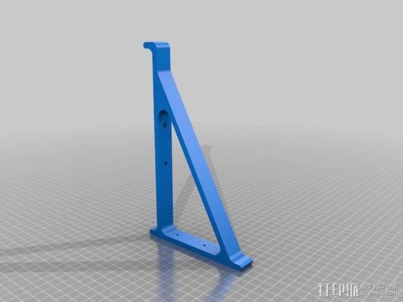 滑板支架模型 3D模型  图2