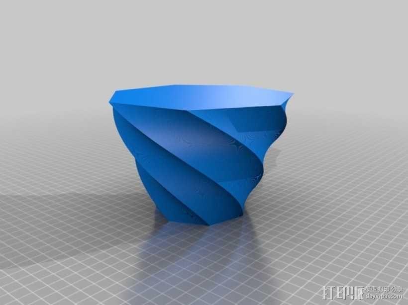 定制化多边形花瓶/花盆模型 3D模型  图6