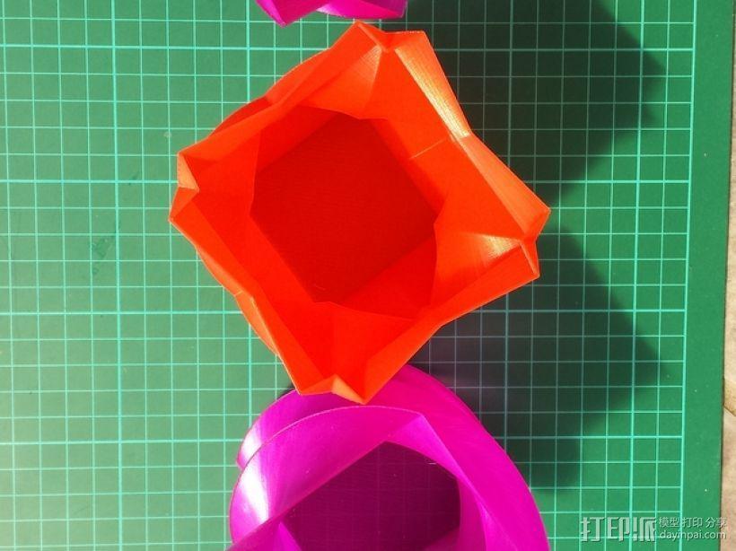 定制化多边形花瓶/花盆模型 3D模型  图7