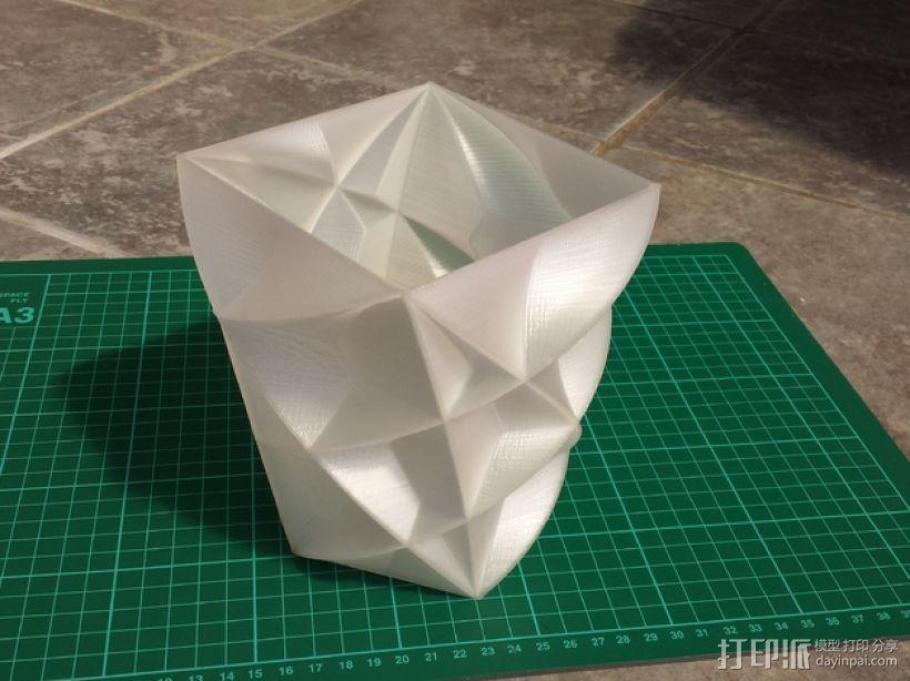 定制化多边形花瓶/花盆模型 3D模型  图8