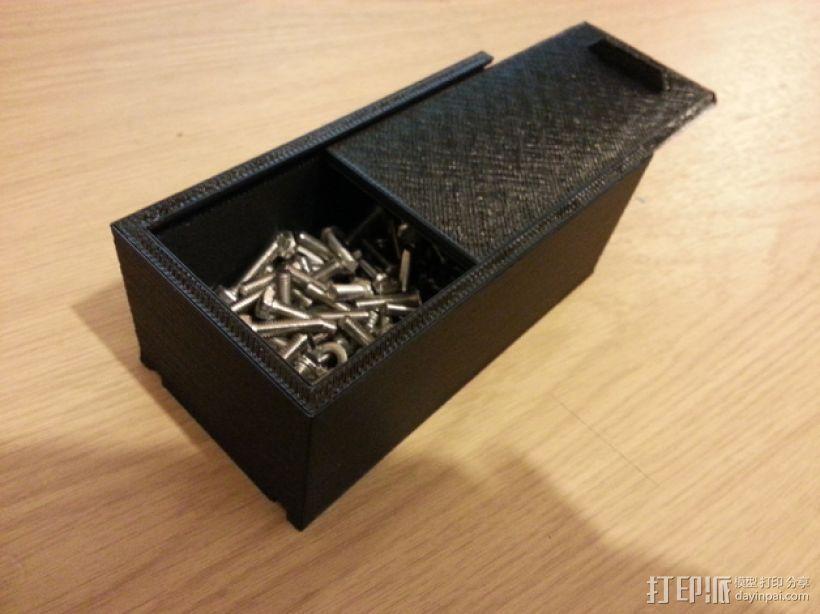 简易储藏盒模型 3D模型  图1