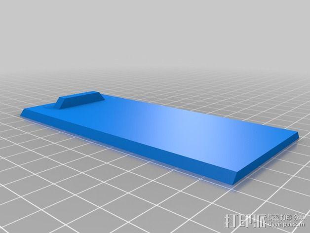 简易储藏盒模型 3D模型  图2