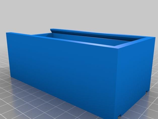简易储藏盒模型 3D模型  图3