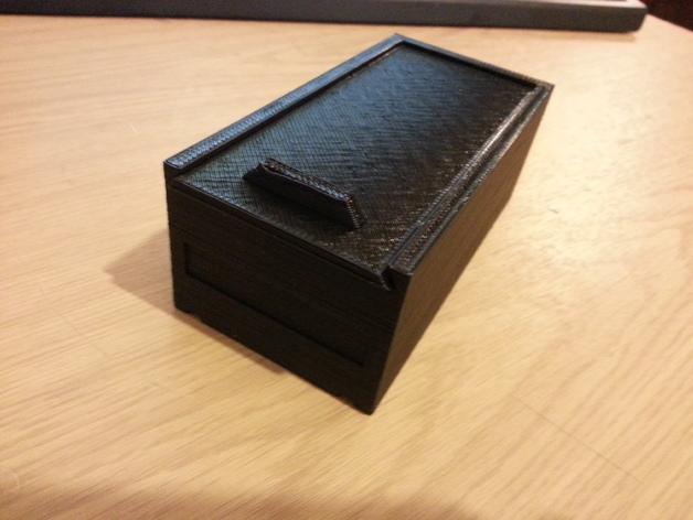 简易储藏盒模型 3D模型  图4